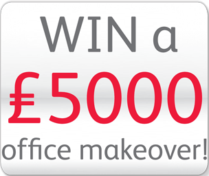 Win a £5000 office makeover! Icon