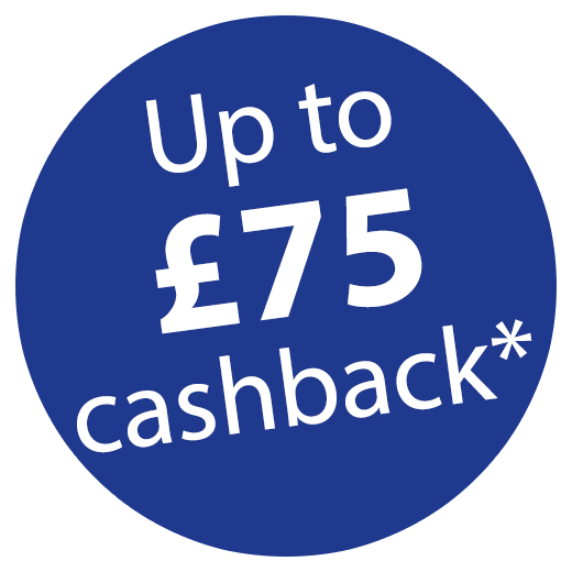 Up to £75 Cashback when purchased with toners! Icon
