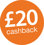 £20 Cashback on Brother labelling machines Icon