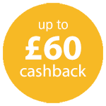 Up to £60 Cashback on Fellowes products Icon