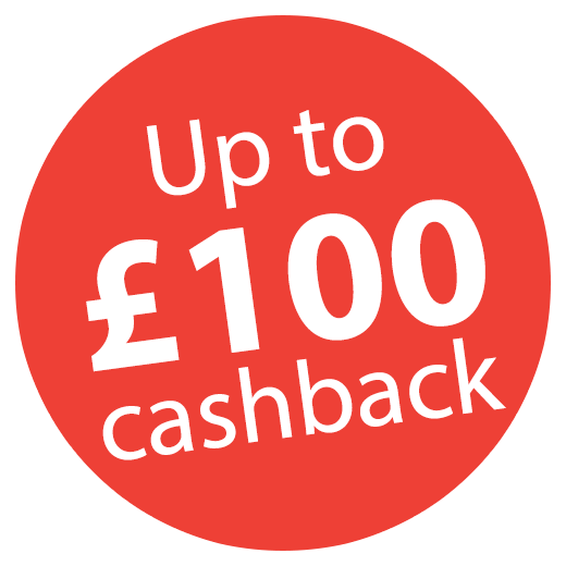Up to £100 Cashback on Rexel Shredders Icon