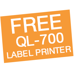 Free Brother QL-700 High-Speed Label Printer Icon