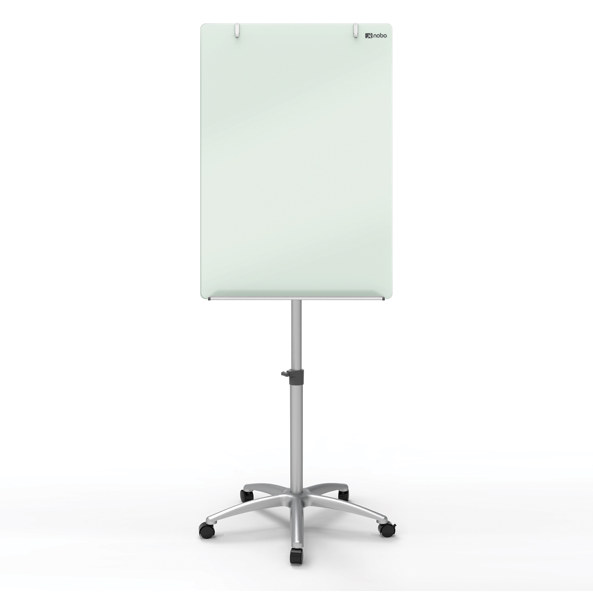 Nobo 1903949 Diamond Glass Mobile Magnetic Flipchart Easel