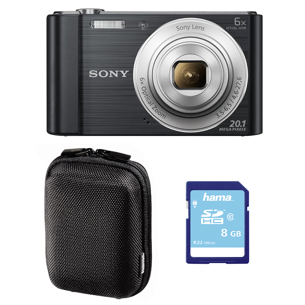Sony W810 Black Camera Bundle