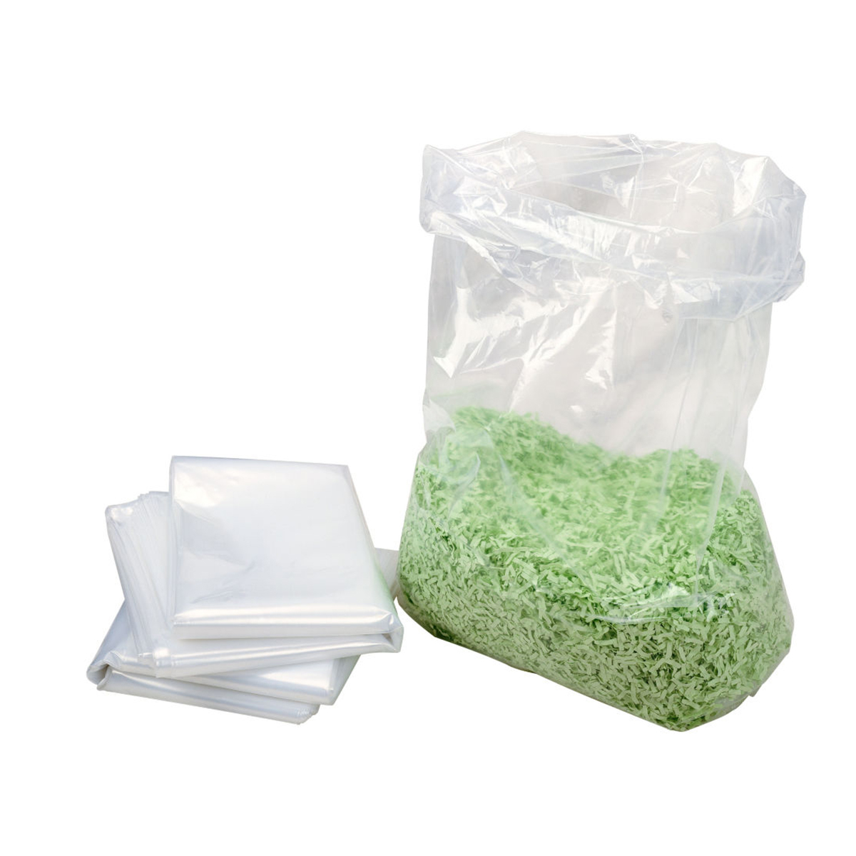 HSM Large Clear Shredder Bags 25pk