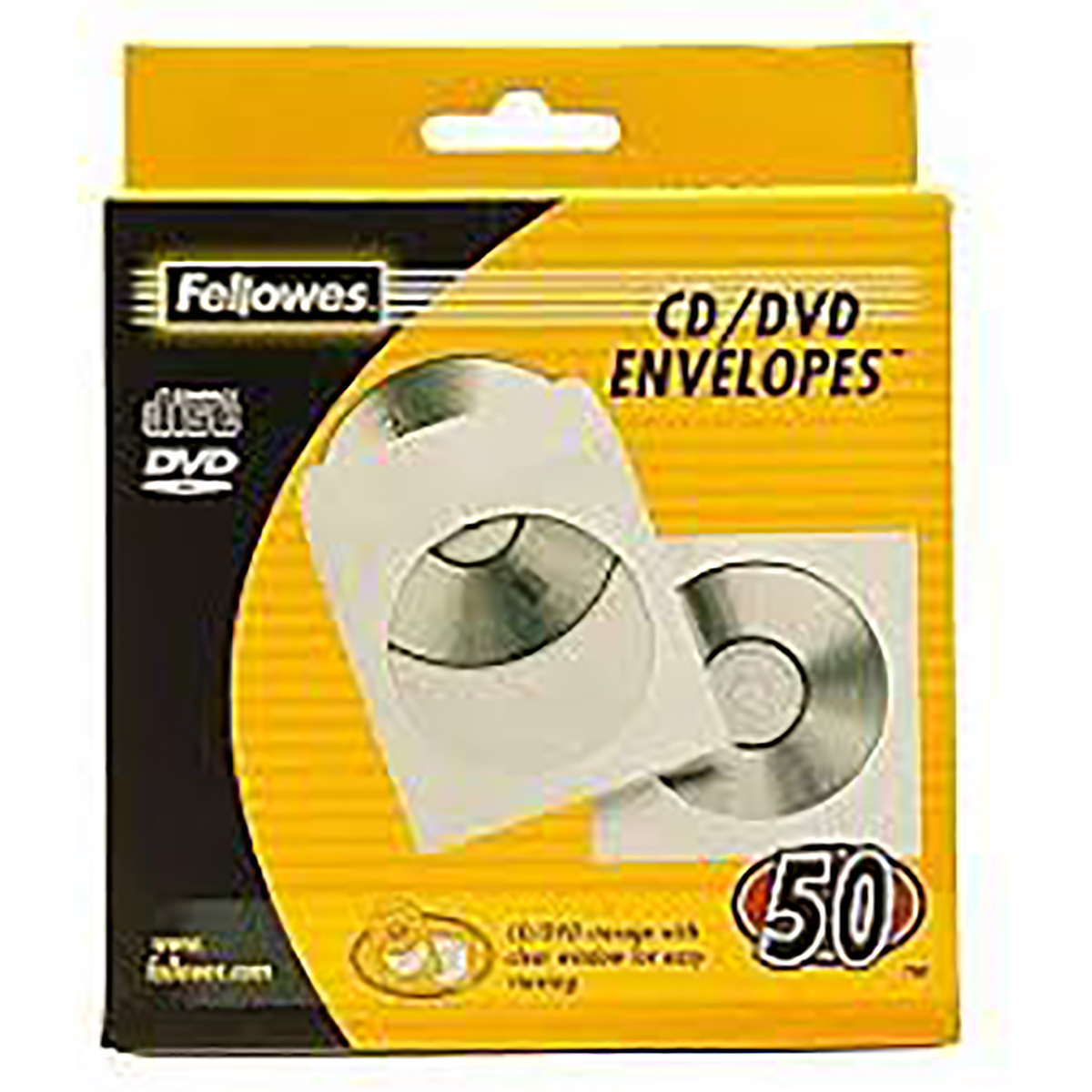 Fellowes 90690 Paper CD Envelopes 50pk