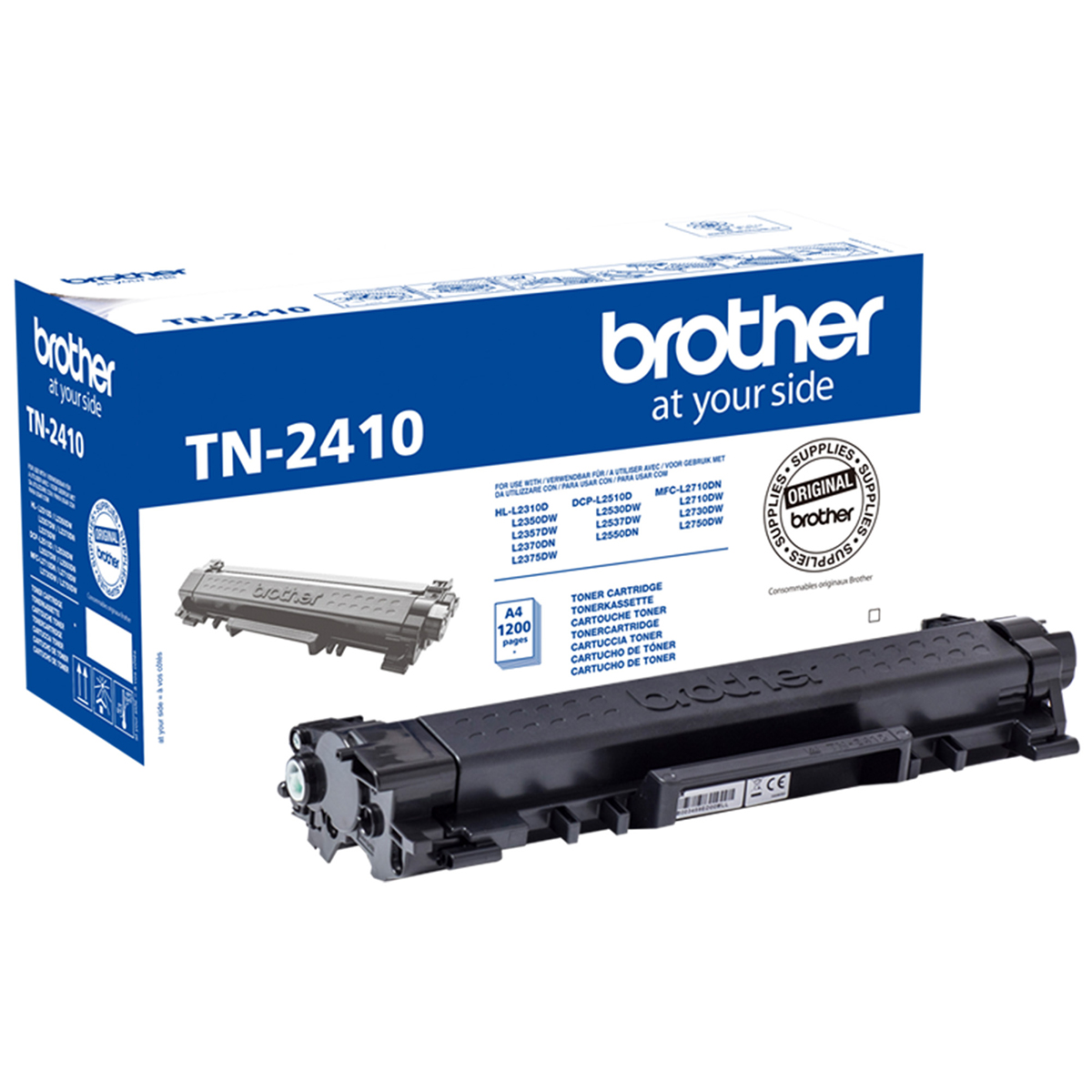 Brother TN2410 Black Toner 1200 Page Yield