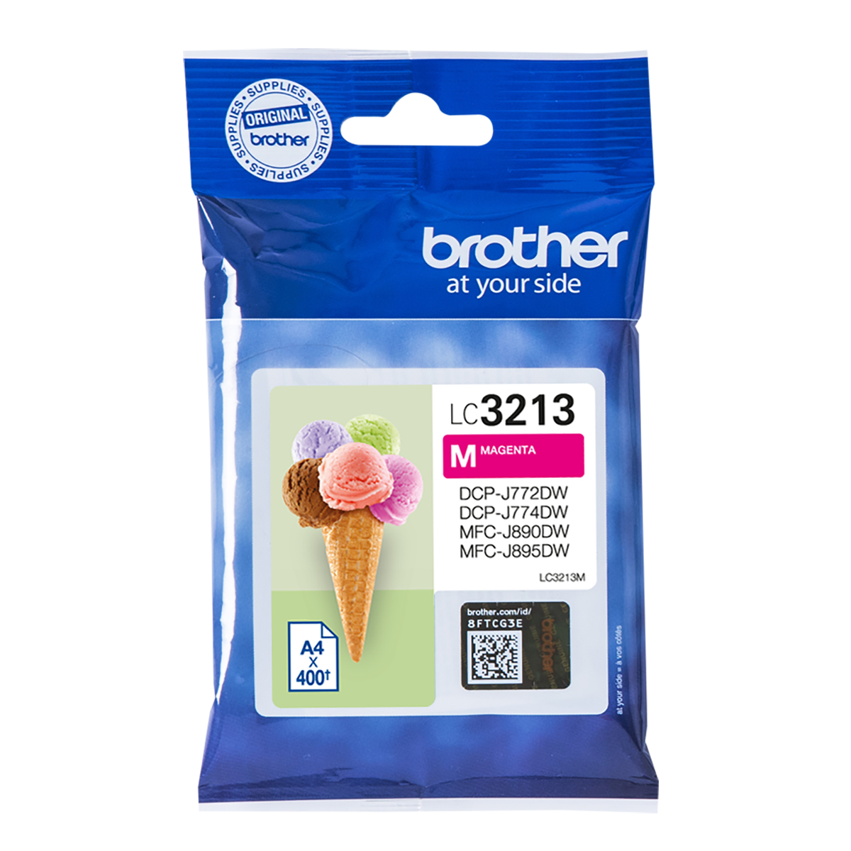 Brother LC3213M High Yield Magenta Ink Cartridge