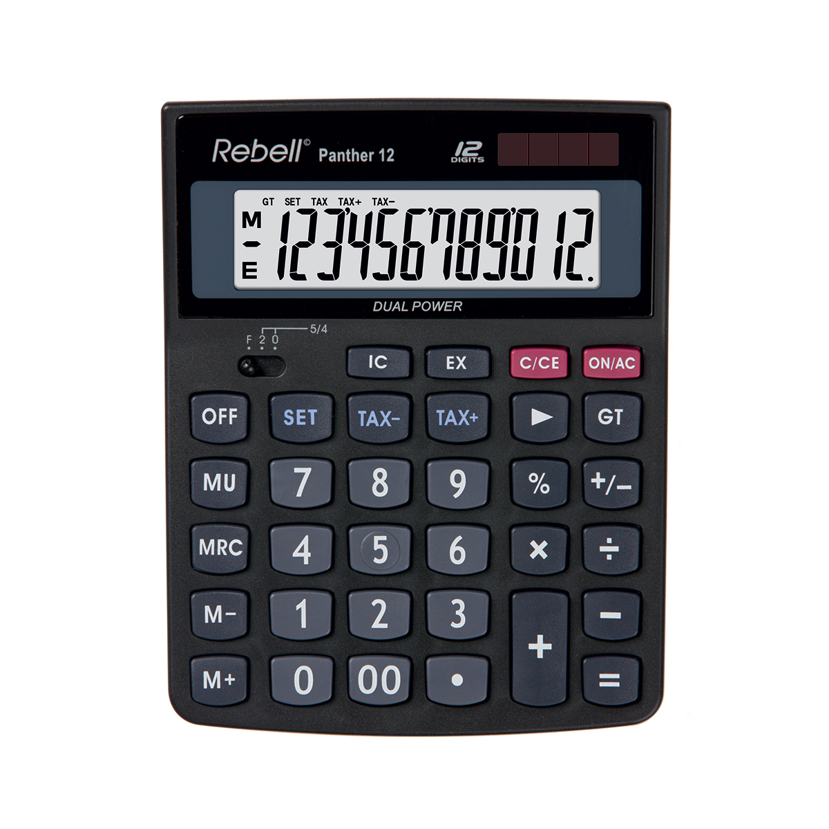 Rebell Panther 12 BX Desktop Calculator