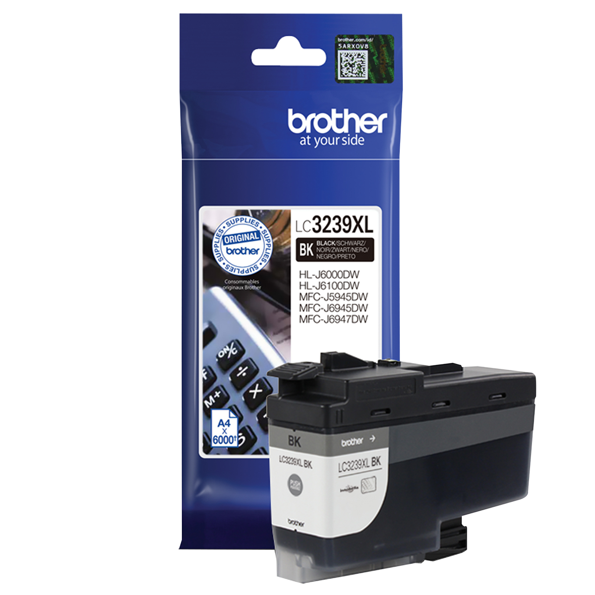 Brother LC3239XLBK Black Inkjet Cartridge