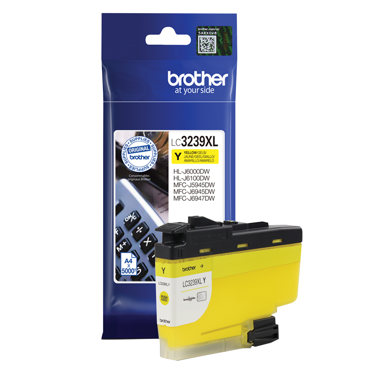 Brother LC3239XLY Yellow Inkjet Cartridge