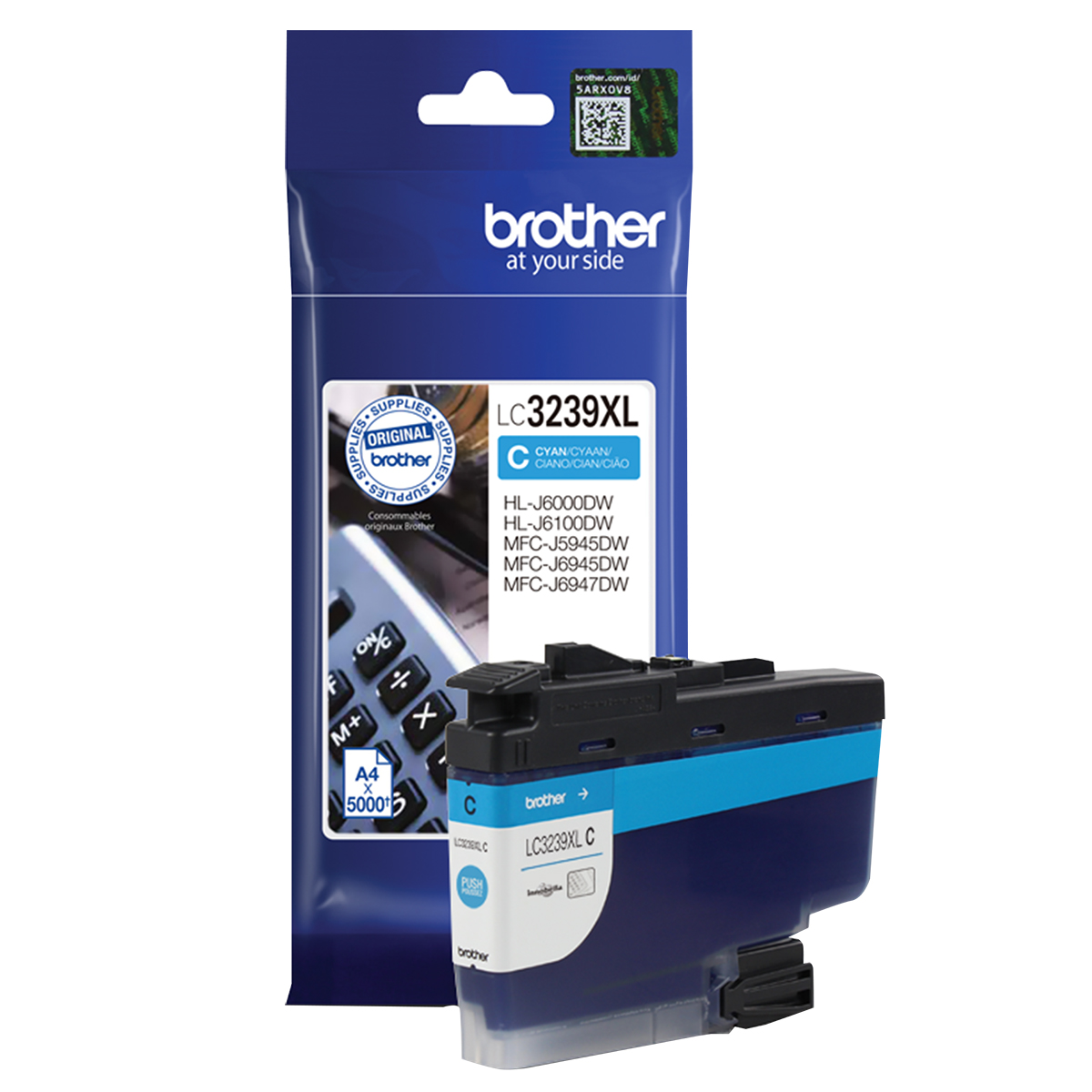 Brother LC3239XLC Cyan Inkjet Cartridge
