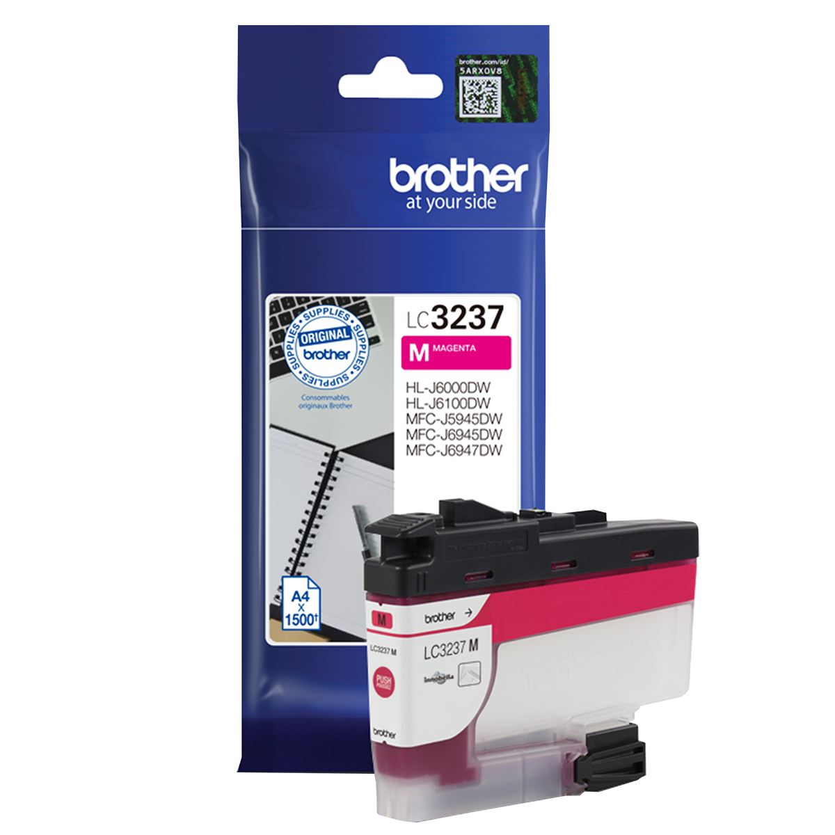 Brother LC3237M Magenta Inkjet Cartridge