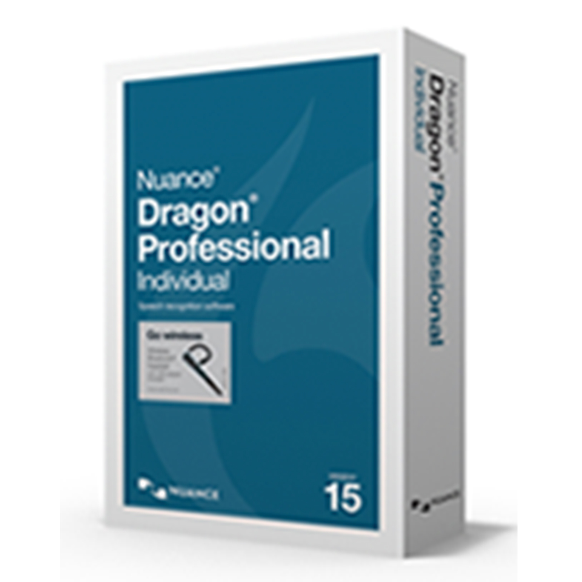Nuance Dragon Professional Individual 15 - English Wireless Box Copy