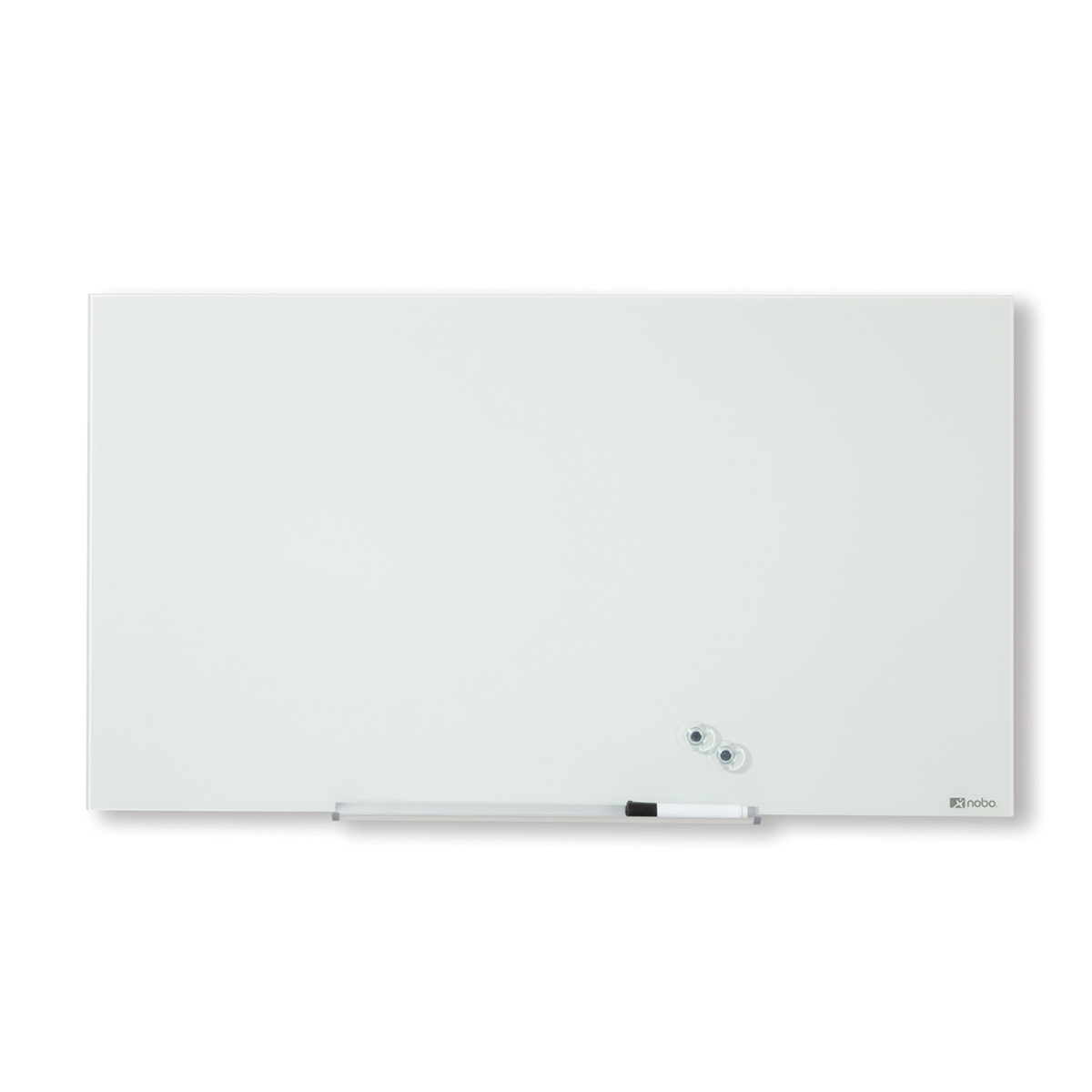 Nobo 1905177 Diamond Glass Whiteboard 1264 x 711mm