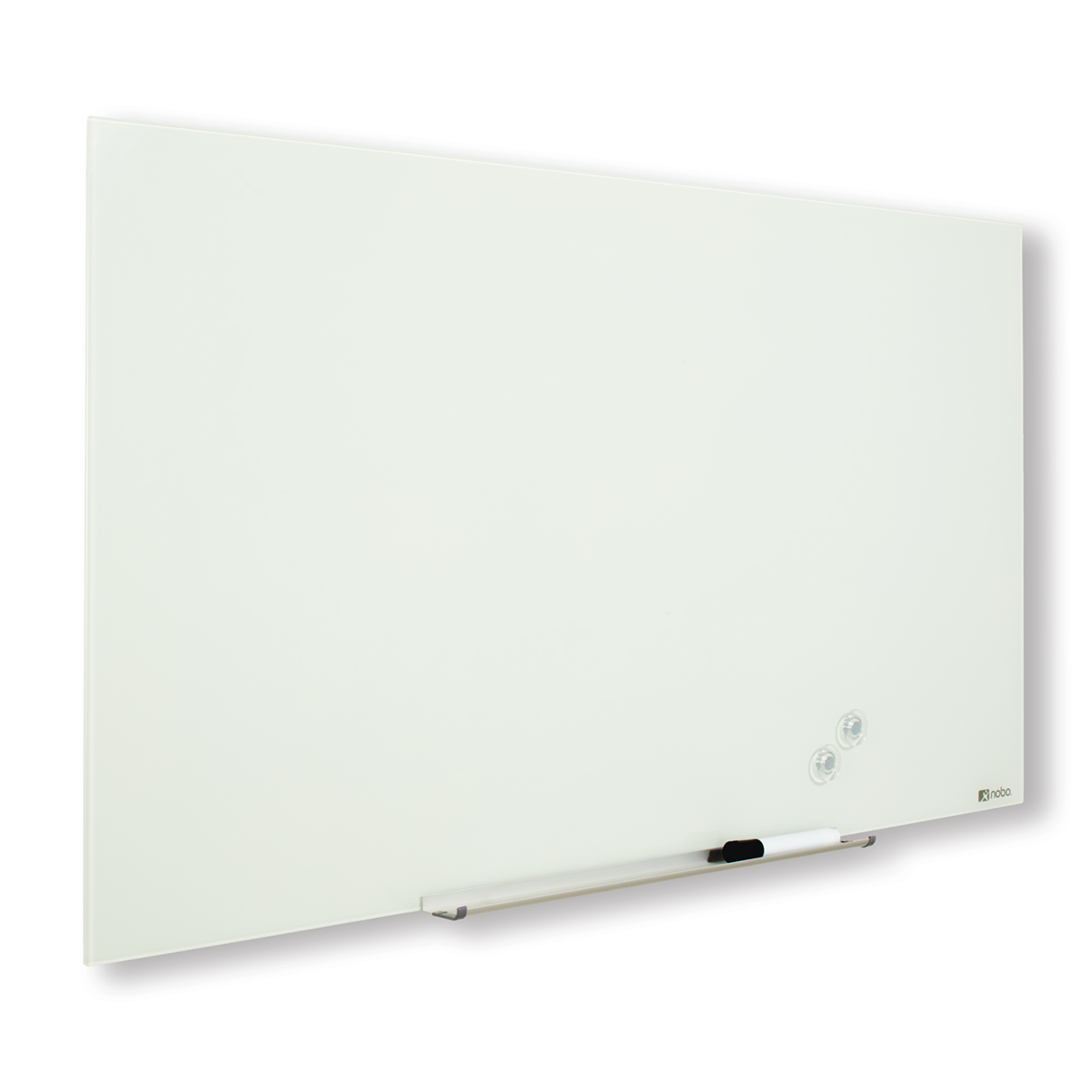 Nobo 1905178 Diamond Glass Whiteboard 1883 x 1059mm