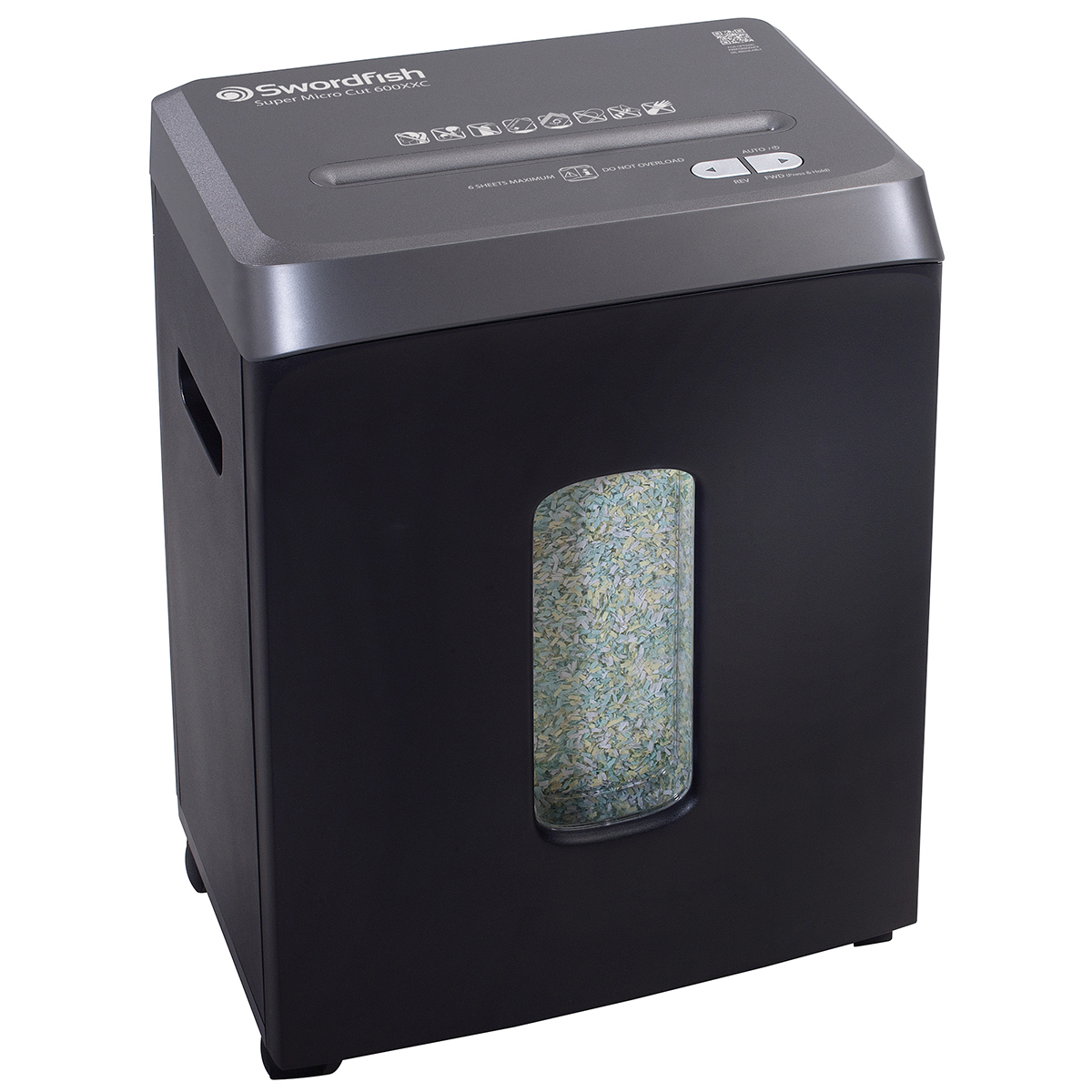 Swordfish 600XXC Micro Cut Shredder