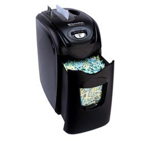 SWORDFISH 1200XCD SECURIA Cross Cut Shredder Black