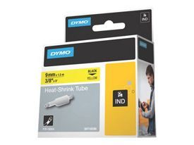 Dymo 18054 9mm Yellow Sleeve - S0718290