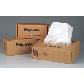 Fellowes 36052 Shredder Bags 100pk