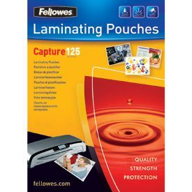 Fellowes A2 125Mic Pouch 50