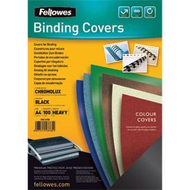Fellowes 5378501 A4 Leatherboard Covers