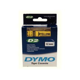Dymo 69324 32mm Yellow Tape