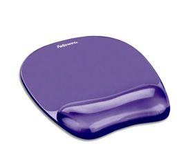 Fellowes 91441 Crystal Gel Mousepad and Wrist Rest