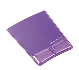 Fellowes 9183501 Crystal Mouse Pad and Wrist Support