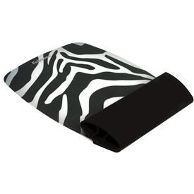 Fellowes 9362301 Silicone Wrist Rocker Zebra Pattern