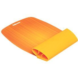 Fellowes 9362401 Silicone Wrist Rocker Sunset Orange