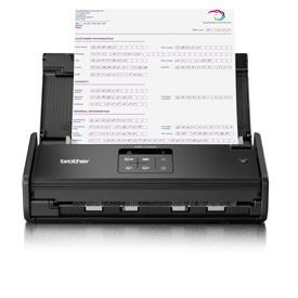 Brother ADS-1100W Compact High-Speed 2-Sided Desktop Document Scanner