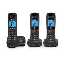 BT BT6600 Trio Dect Telephone with Answer Machine