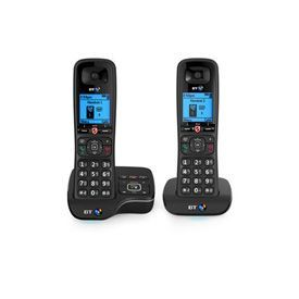 BT BT6600 Twin Dect Telephone with Answer Machine