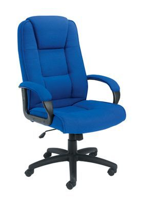 Keno Executive Fabric Chair Royal Blue