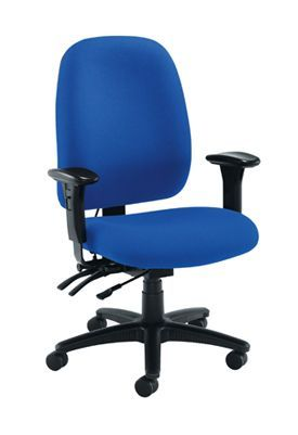 Posture Vista High Back Chair Royal Blue