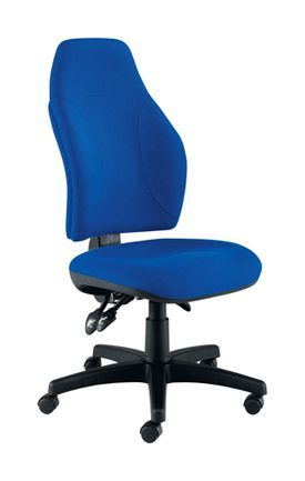 Eco Posture High Back Chair Royal Blue