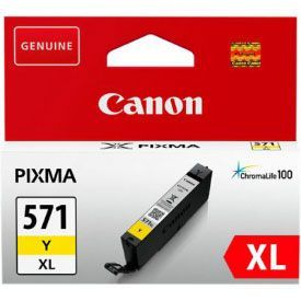 Canon CLI-571 XL Yellow Ink Cartridge