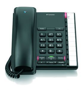 BT Converse 2200 Telephone Black