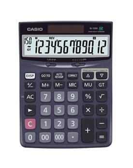 Casio DJ-120D Desk Calculator