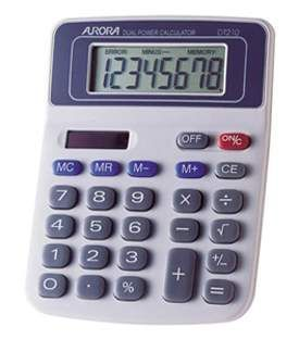 Aurora DT210 Desk Calculator