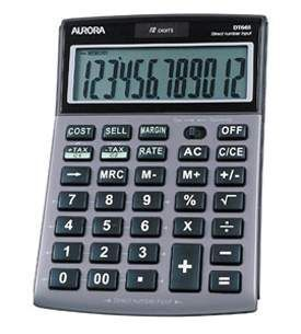 Aurora DT661 Desk Calculator