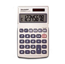 Sharp EL-240SA Handheld Calculator