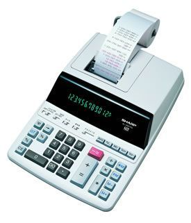 Sharp SH-EL2607P Print and Display Calculator