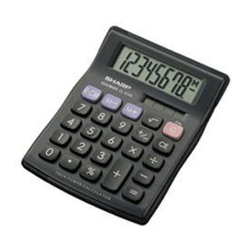 Sharp EL310AB Semi Desk Calculator