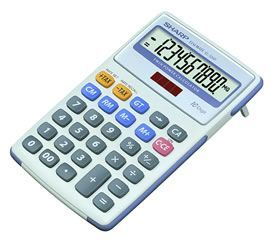 Sharp EL334FB Semi Desk Display Calculator
