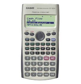Casio FC-100V Financial Calculator