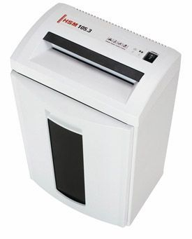 HSM 105.3C 1.9 x 15mm Cross Cut Shredder