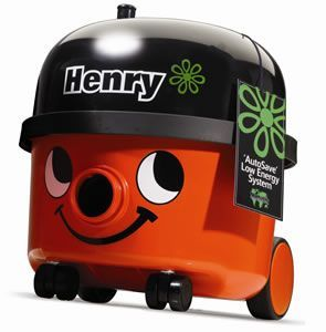 Numatic HVR200-12 Henry Hoover Red 620W