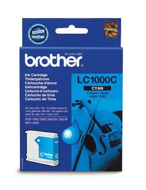 Brother LC1000C Cyan Cartridge